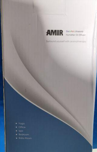 Amir Aroma Diffuser White with Changing Multi Coloured Light