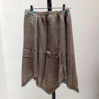 Brown Skirt Rok Coklat