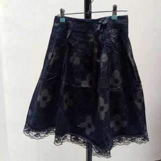 Black Lace Skirt / Rok Hitam Lace