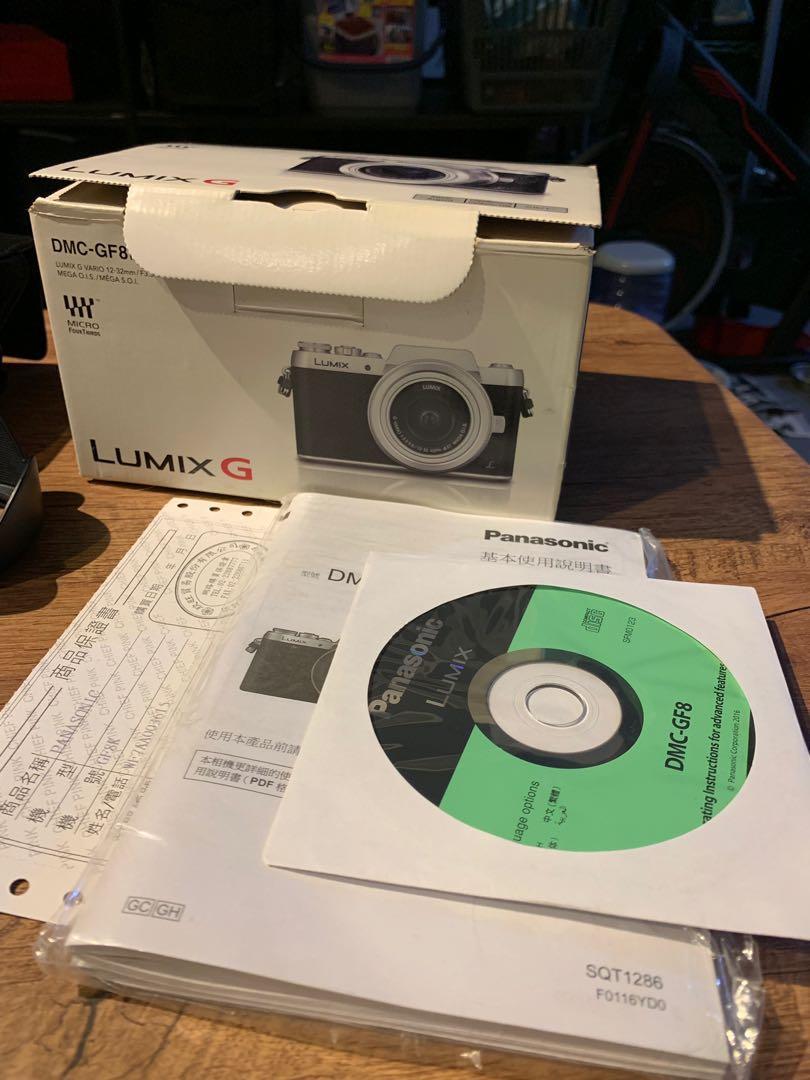女朋友相機 gf8 超值組 LUMIX G