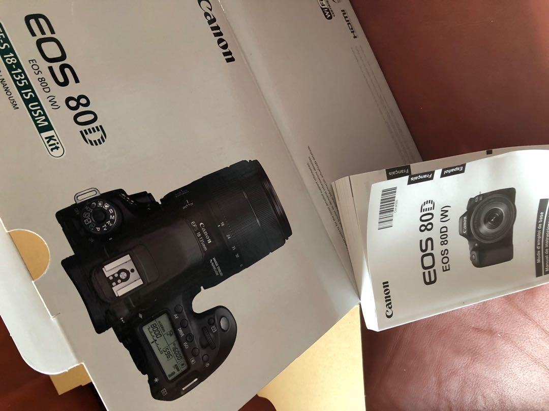 Canon 80d 18-135mm