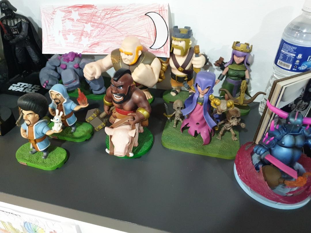 Clash of Clans figurines