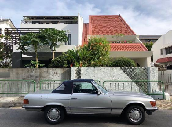 Classic Mercedes SL - 1973 350SL (COE until Nov 2024)