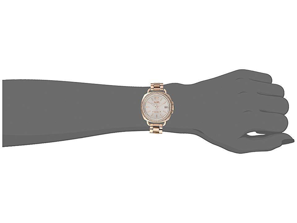 Coach Tatum 34mm Bracelet with Swarovski Crystal Watch (Gold)   [🇺🇸 美國直送]
