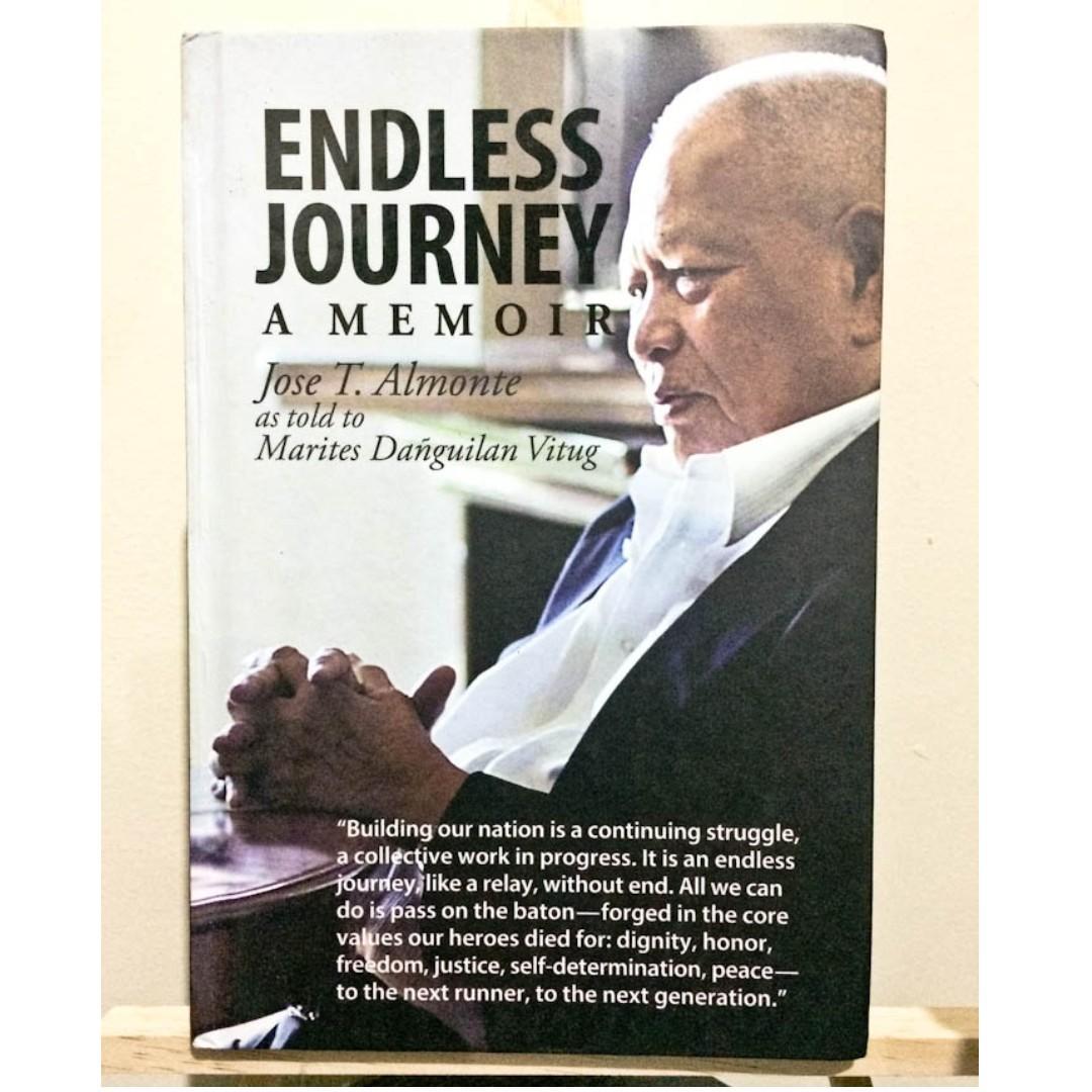 Endless Journey: A Memoir by Jose T. Almonte as told to Marites Danguilan Vitug