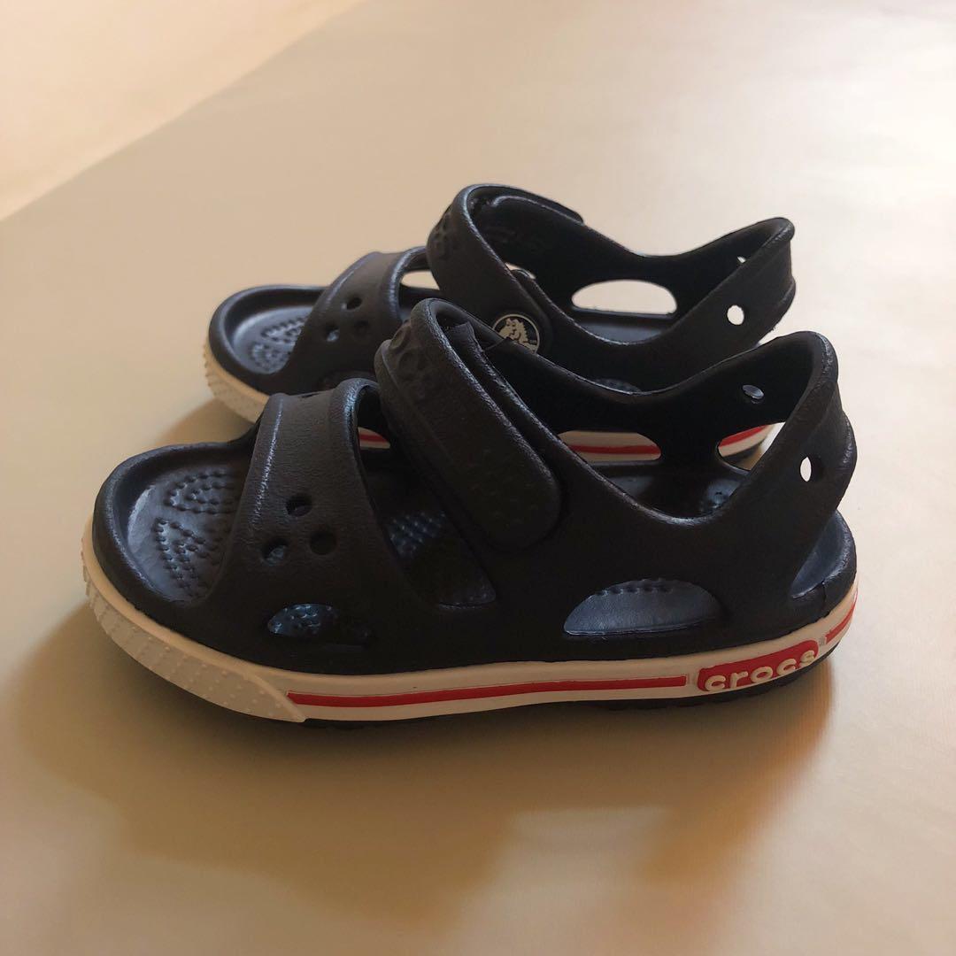 Crocs Kids' Crocband II Sandal, Babies