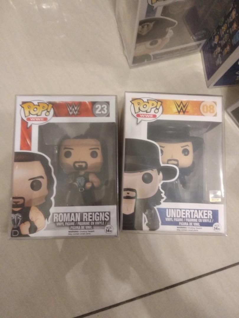 SHIPPING COMBINES Boxed Brand New WWE Funko POP Figures
