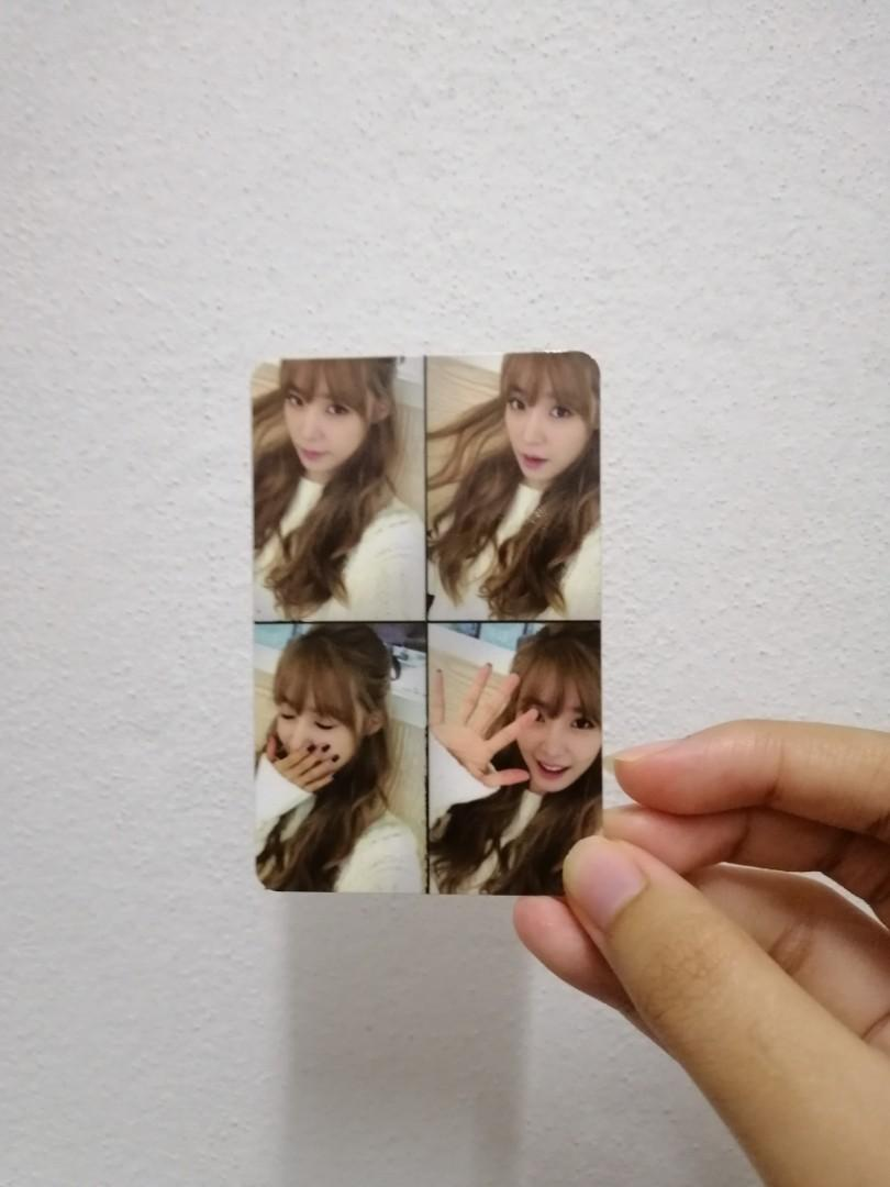 GIRLS' GENERATION-TTS 'HOLLER' OFFICIAL TIFFANY PHOTOCARD