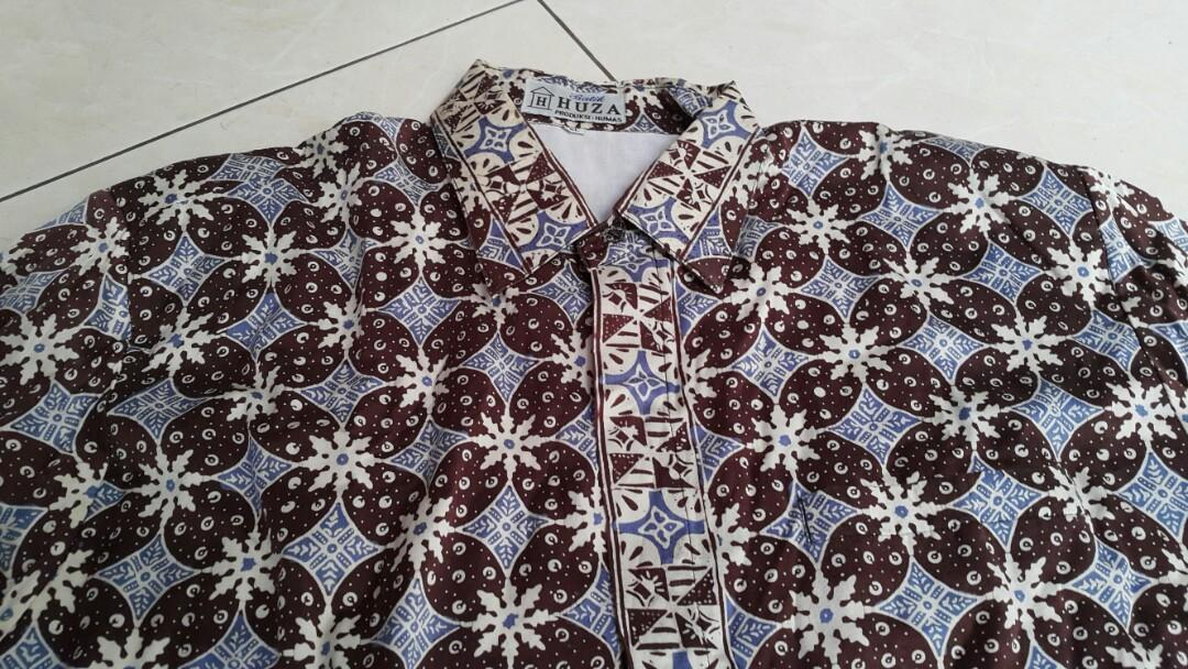 Hem Tgn Pjg Batik Sutra sizeXL  LD120