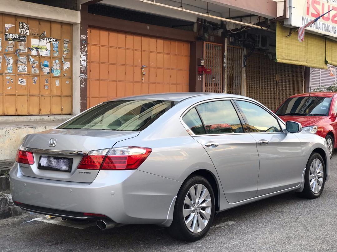 HONDA ACCORD 2.0AT VTi 2014TH Cash💰OfferPrice💲Rm66,800 Only‼ Lowest Price InJB 🎉📲 Keong‼🤗