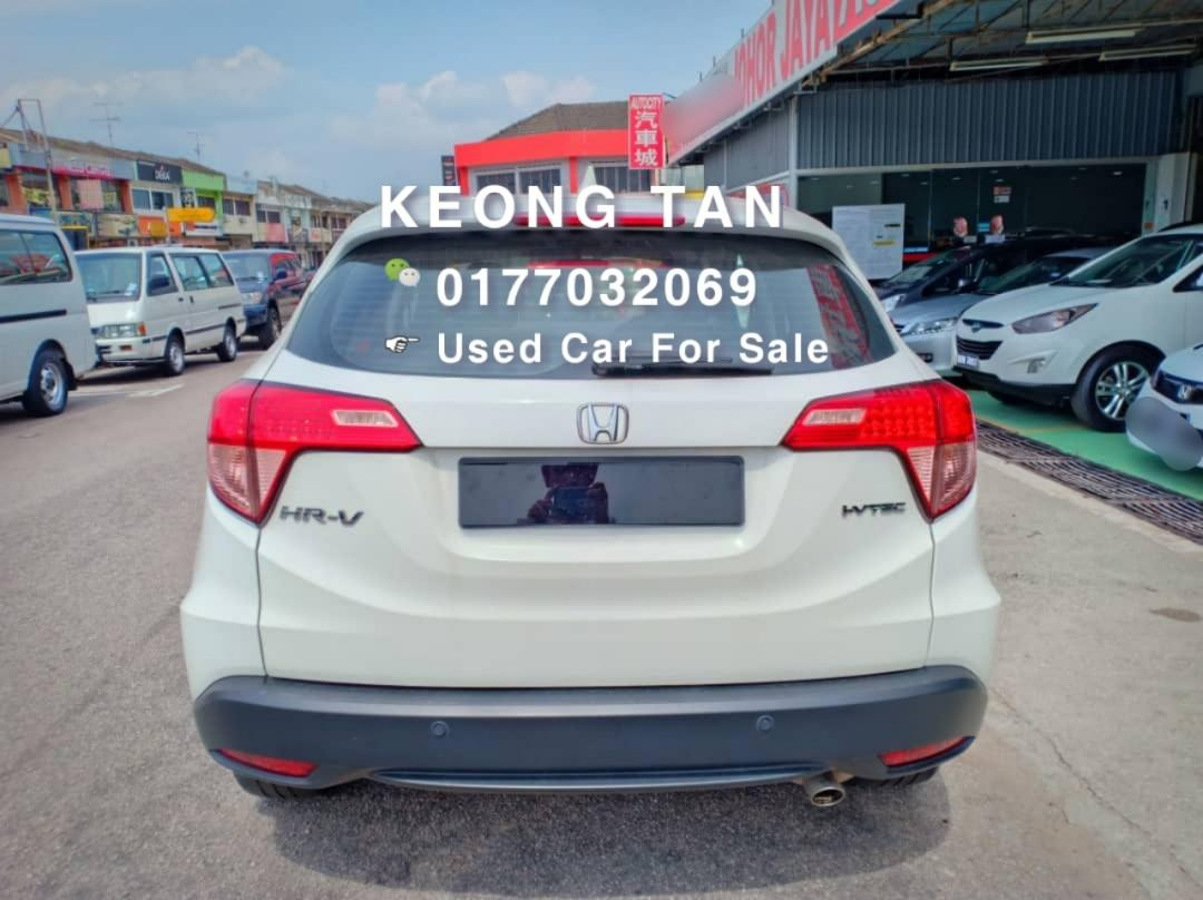 HONDA HRV 1.8AT S SPEC 2015TH🚘Low MILLEGE 5XXXXKM Cash🎉OfferPrice💲 Rm63,500 Only‼ Lowest Price InJB 🎉📲 Keong‼🤗