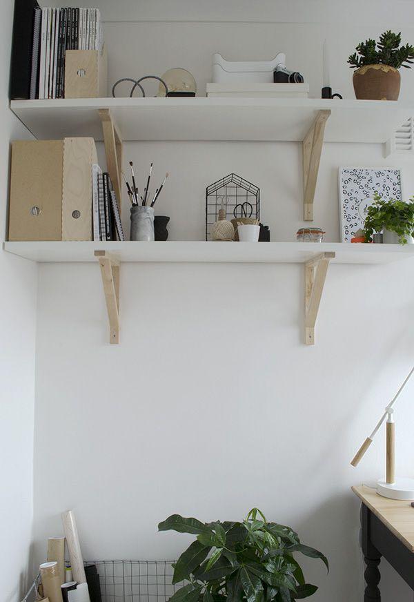 Ikea Wall Shelve White 110x28cm On Carousell