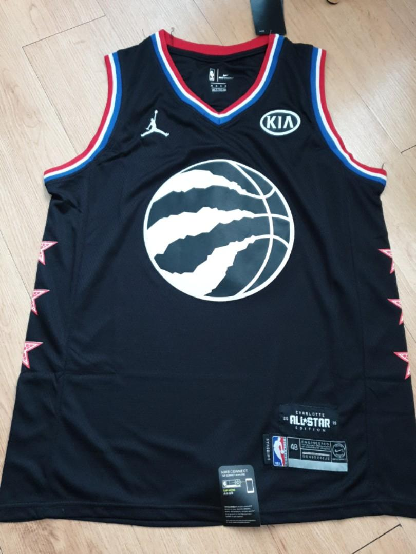 new style da744 24c65 Instock NBA All Star Toronto Raptors Kawhi Leonard Black ...