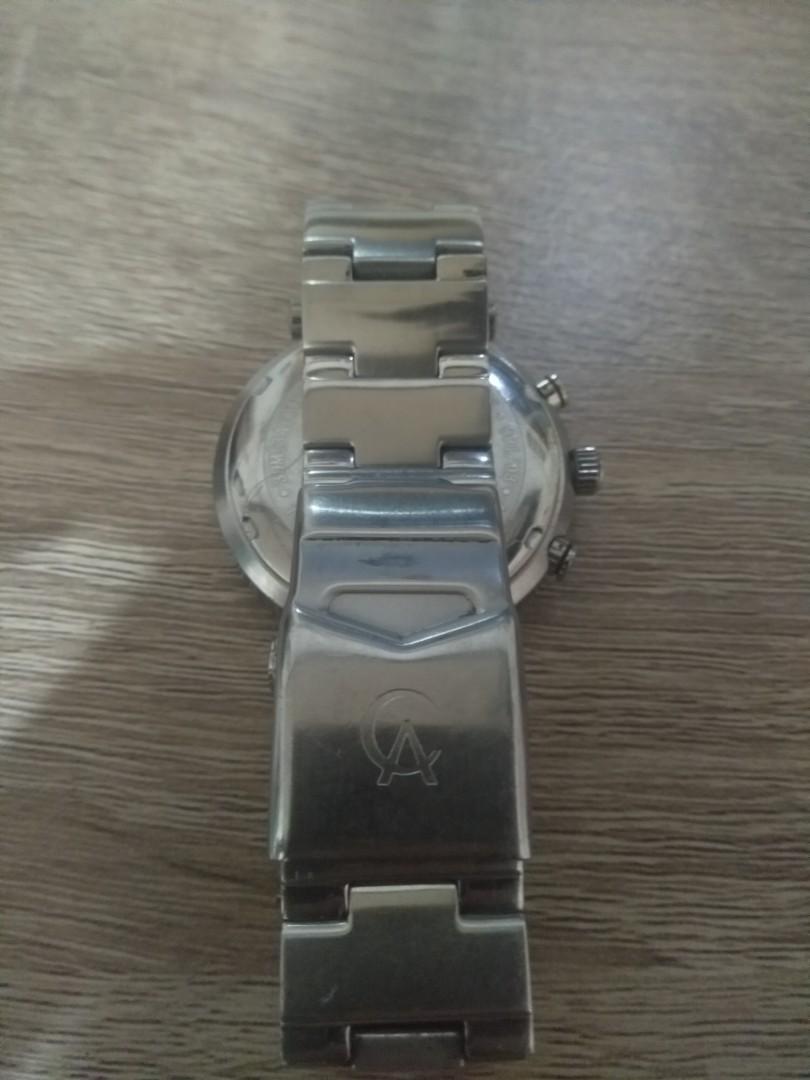 Jam tangan Alexander Christie chronograph original