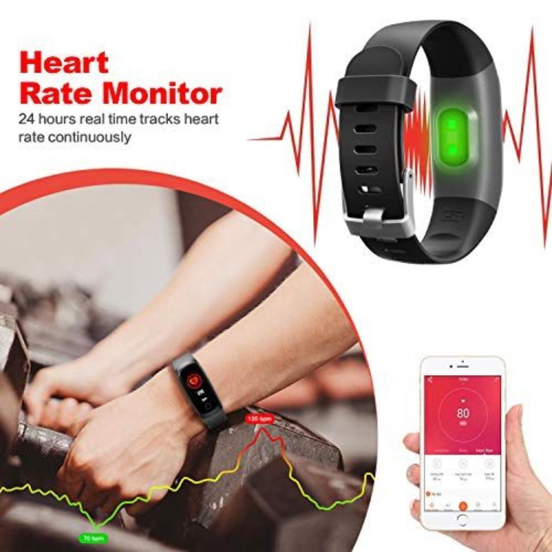 Kilponen Fitness Tracker with Heart Monitor