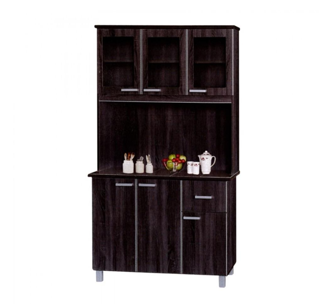 Kitchen cabinet with top