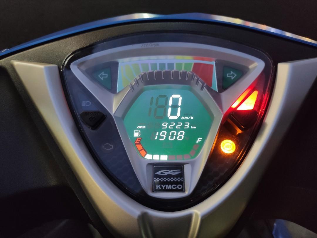 KYMCO 新G6 150 ABS LED大燈 消光藍