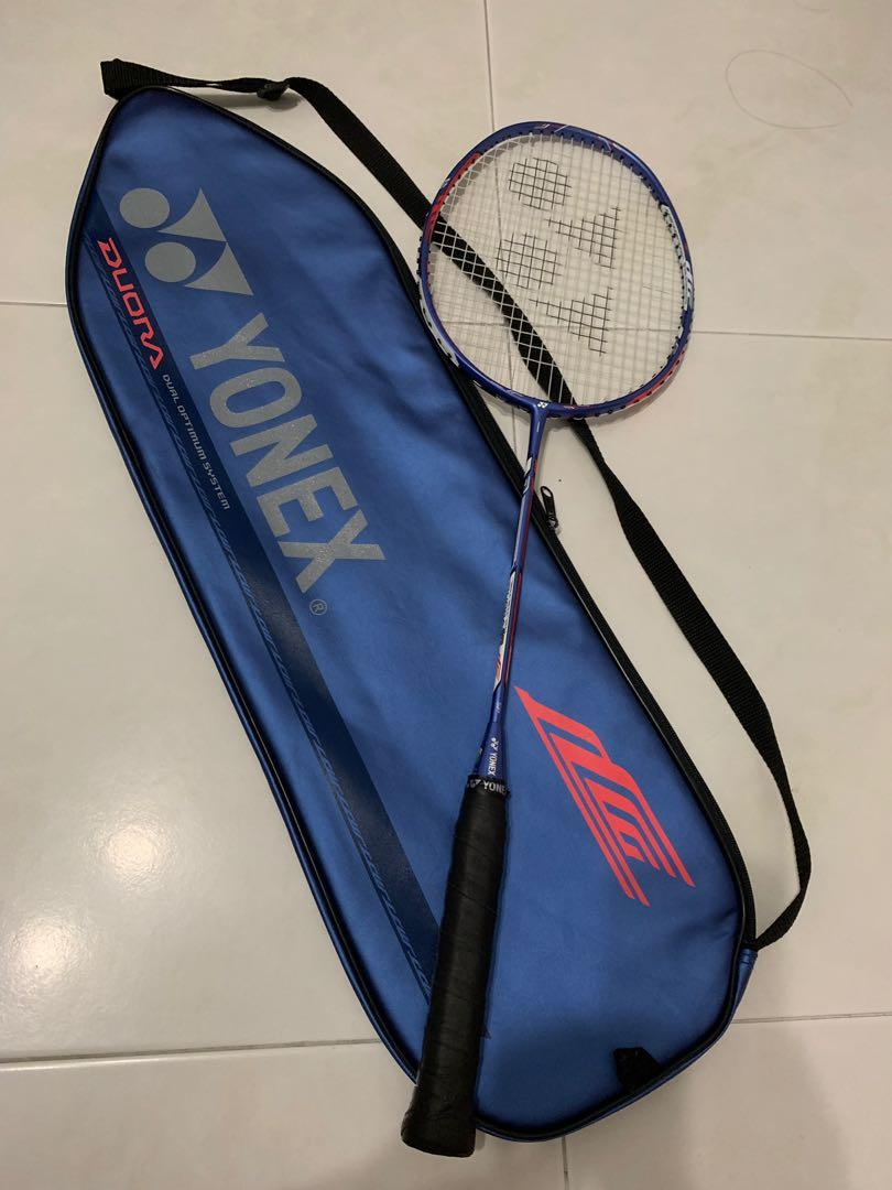 [Limited Ed] Duora 10 Badminton Racket Blue/Red/White