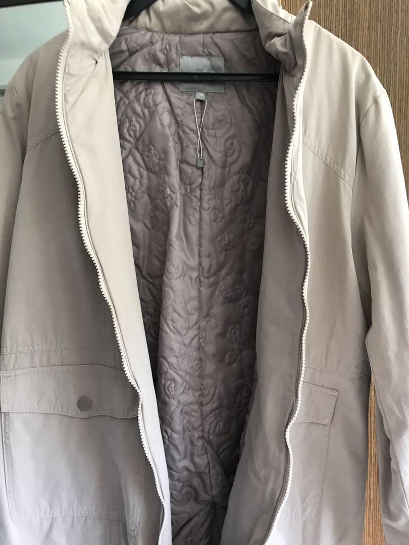 Long Winter Jacket (ladies) - Beige Brown