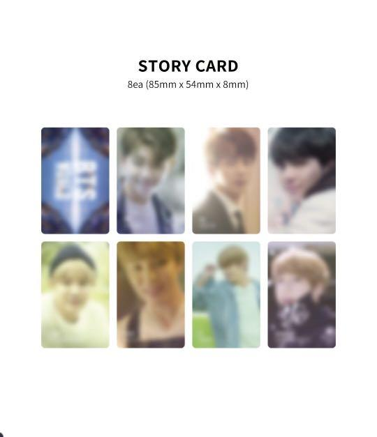 [Loose Items] BTS World OST Limited Package (Magnet + Story Card)