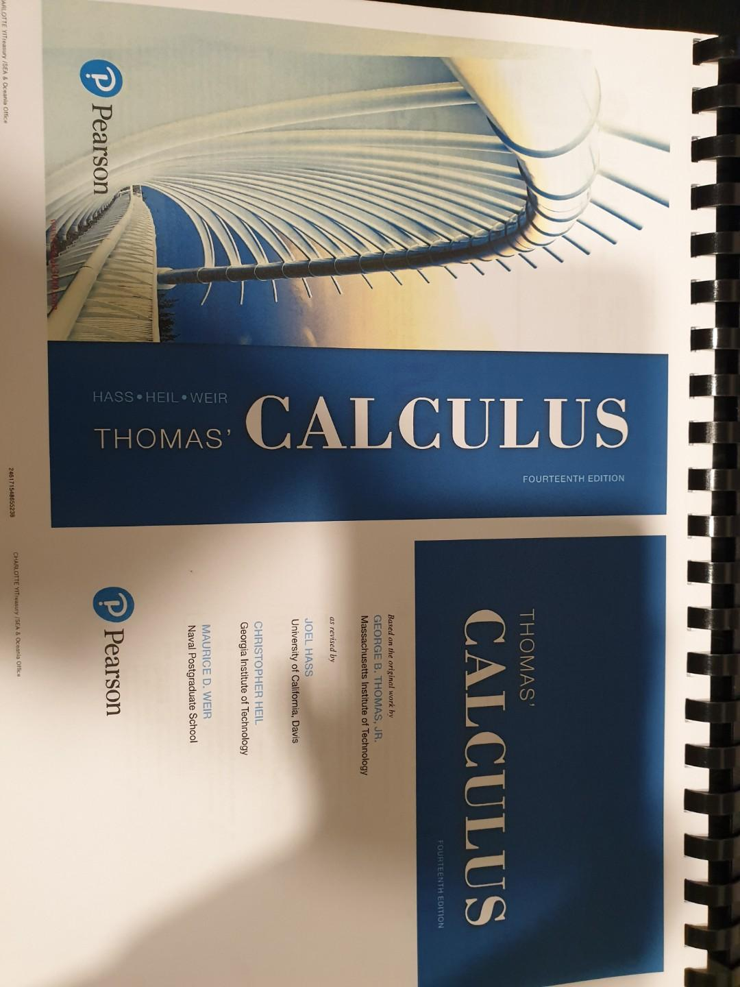 MA1102R Physical Textbook, Books & Stationery, Textbooks