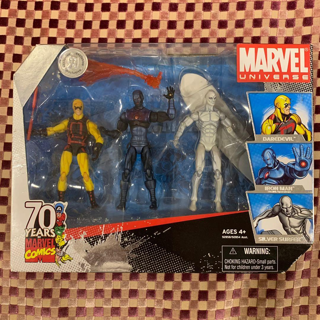 "Marvel Universe Stealth Iron Man TRU 70th Anniversary 4/"" Figure Action Figure"