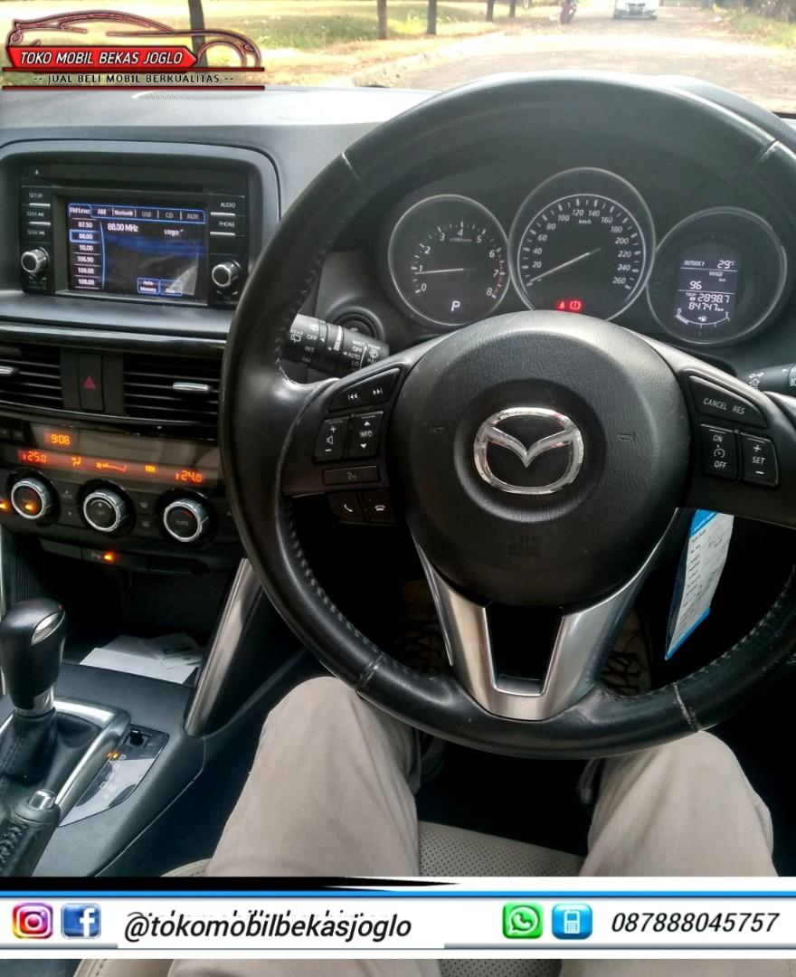 MAZDA CX-5 Grand Touring 2.5 AT 2014 Merah DP 47jt,Kondisi Istimewa Dijamin Siap Pakai