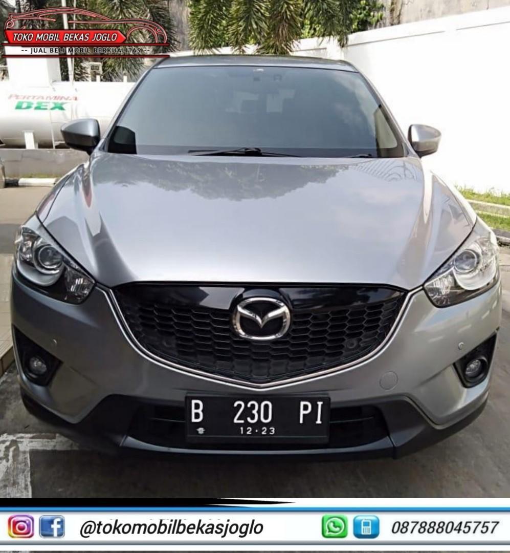 MAZDA CX-5 TOURING 2.5 AT 2013 Silver DP 14jt Kondisi Istimewa Dan Dijamin Siap Pakai