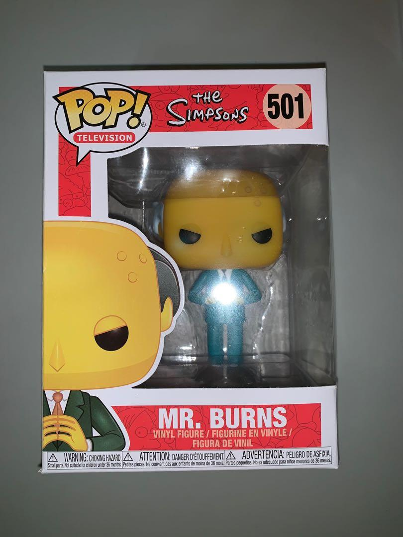 #501 NEW MR BURNS The Simpsons Funko POP