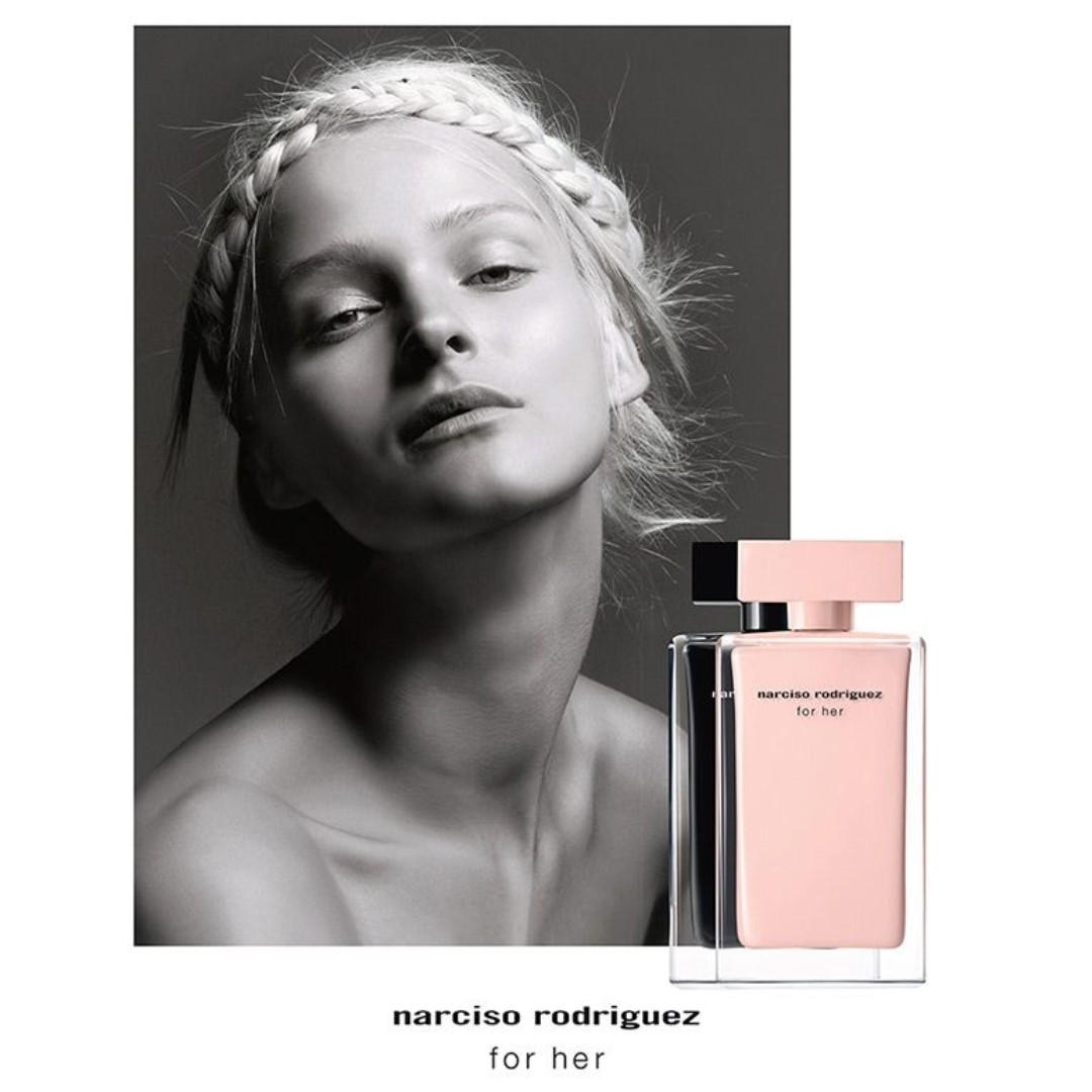 Narciso Rodriguez for Her EDT (For Women) 50ML or 100ML /納茜素她的同名女士淡香水 50ML or 100ML