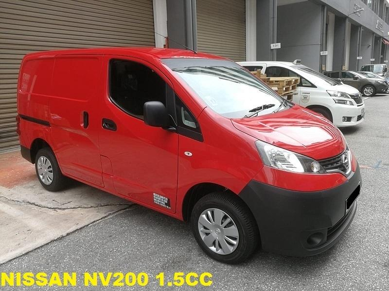 Nissan VAN -NV200 (RED)