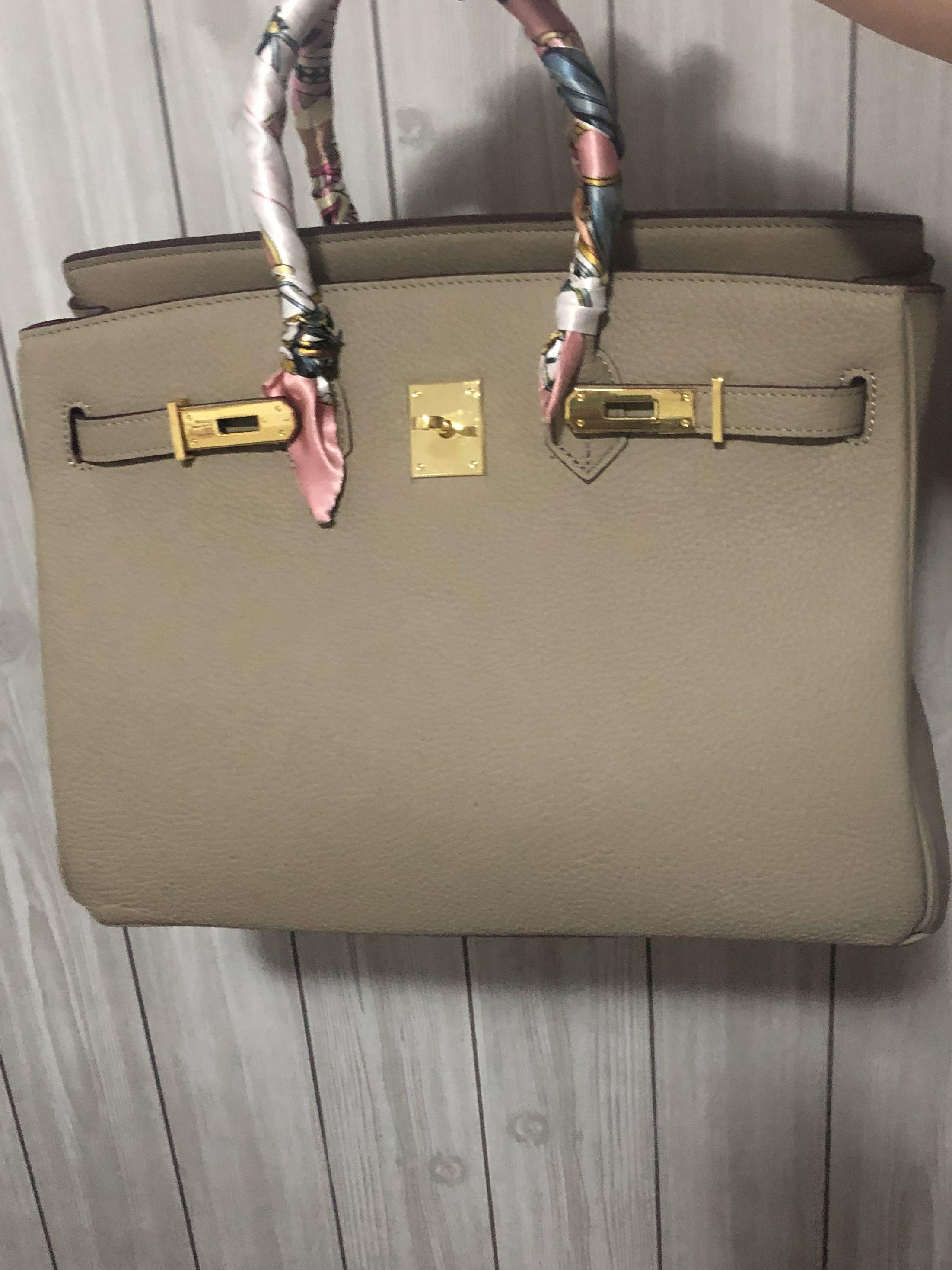 No Brand Leather Birkin 35