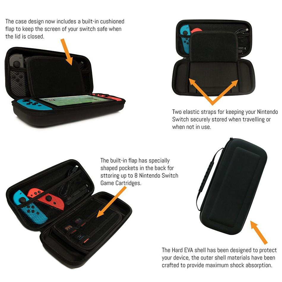 🔥Nintendo Switch Orzly Carry Case🔥