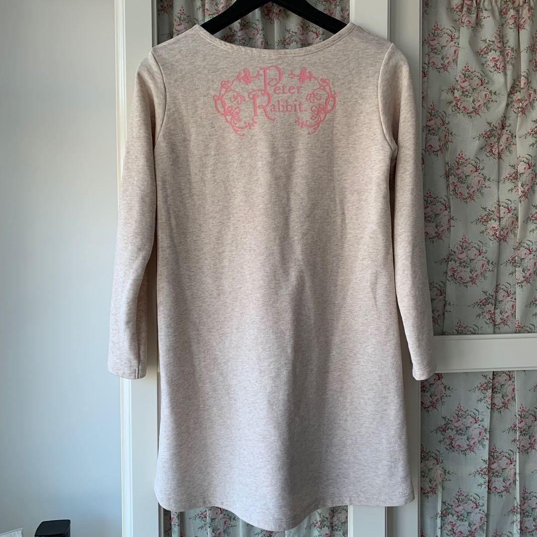 Peter Rabbit long sleeved dress