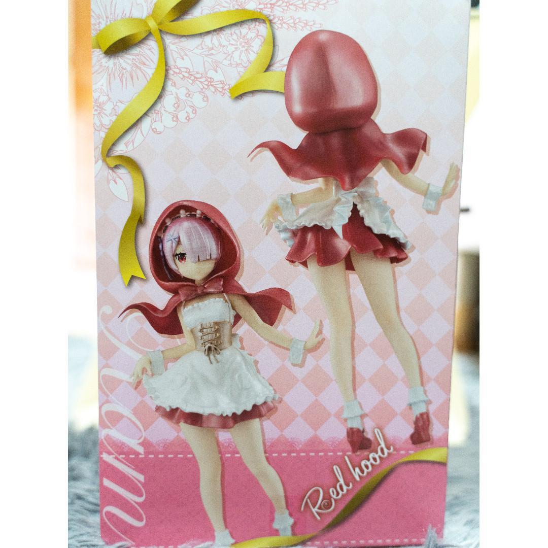 Re: Zero Rem SSS Red Hood Figure