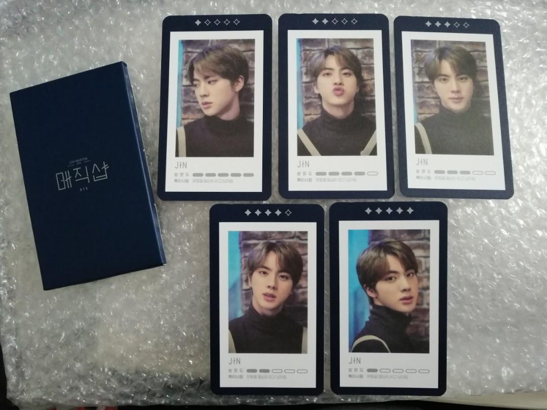 [READY STOCKS] BTS 5th Muster Unofficial Guestbook Cards