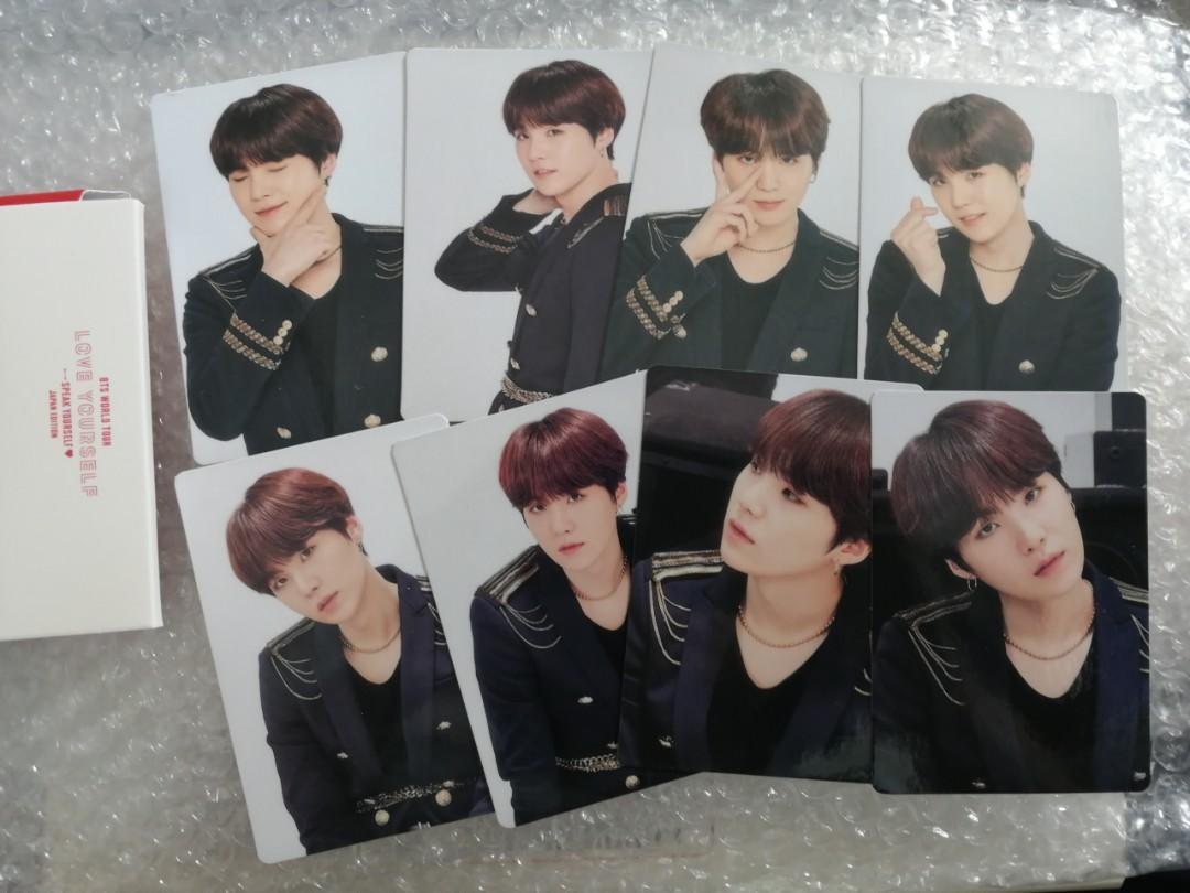 [READY STOCKS] BTS Speak Yourself Japan Unofficial Mini Photocards