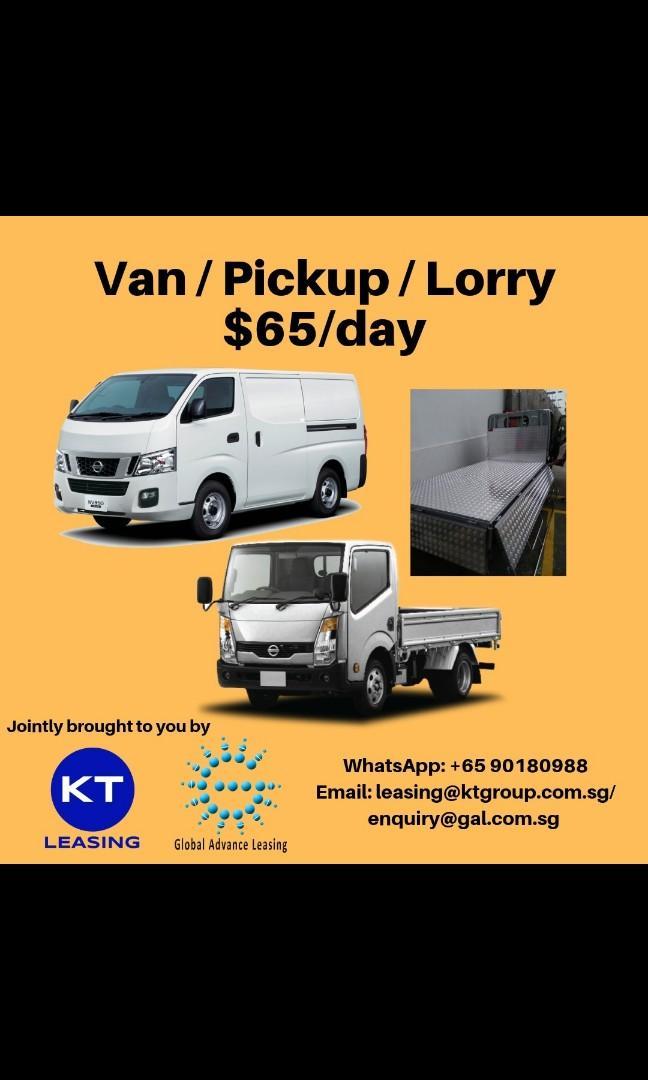 Rent Van, Lorry, pickup