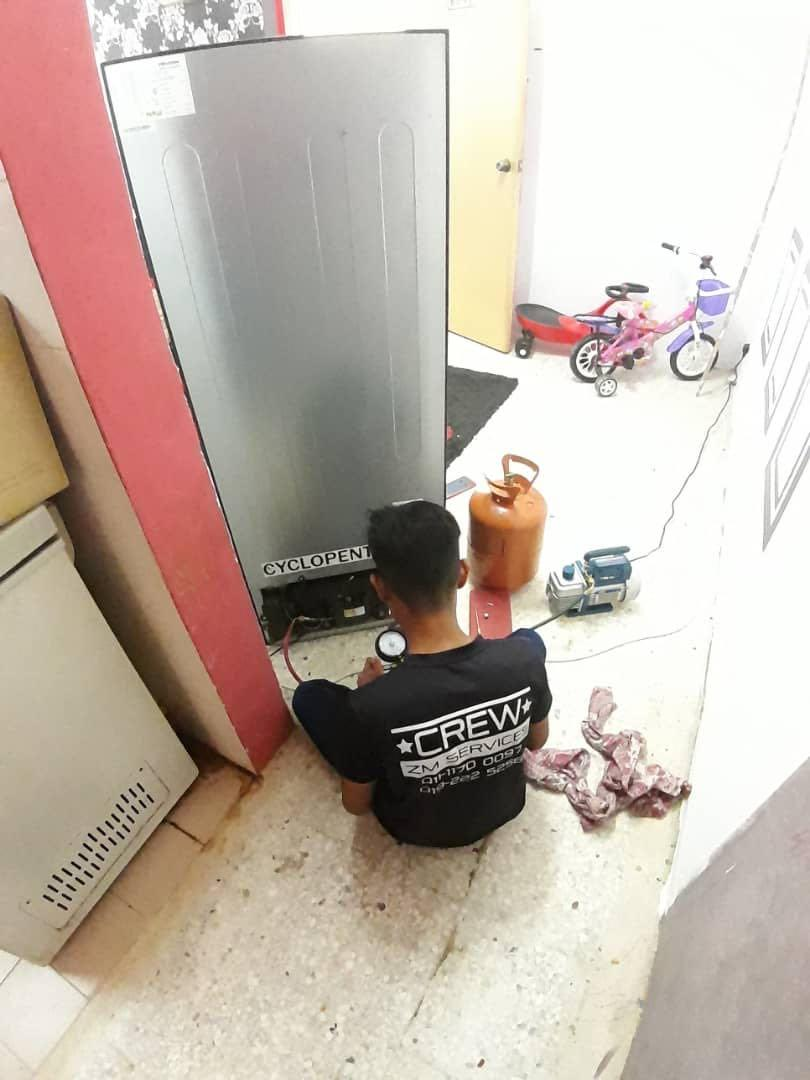 Repair tv chiller freezer mesin basuh