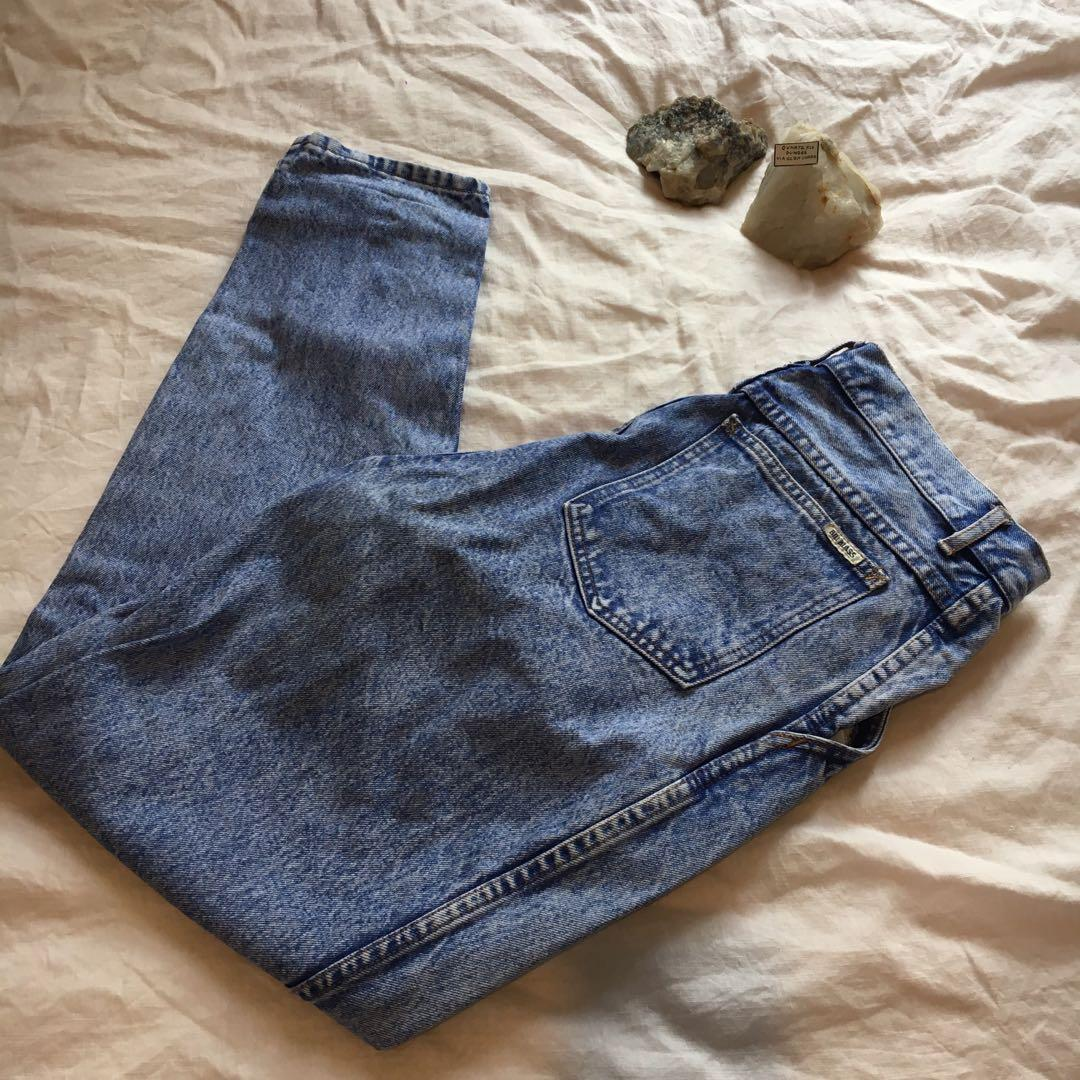 The most incredible pair of vintage mum jeans   Brand: Bill Blass