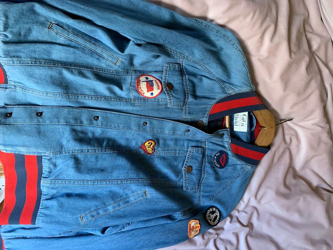 Tommy Hilfiger x GiGi Hadid patch jacket worn once
