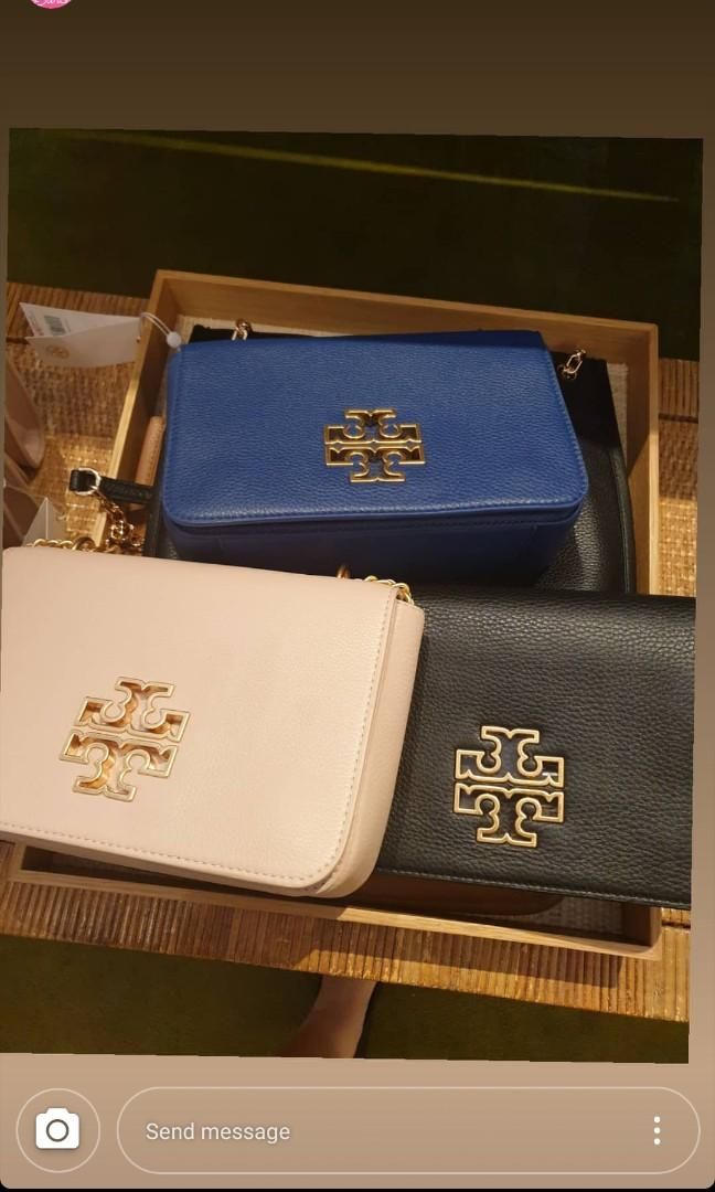 Tory Burch Wallet dompet slingbag tote bag tas waistbag card holder original bumbag coach #joinagustus