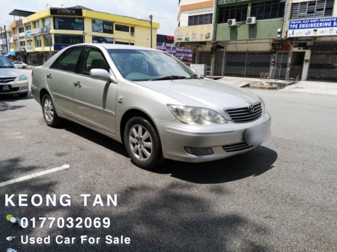 TOYOTA CAMRY 2.4AT V SPEC 2003TH JUAL Cash Shj🚘Cash OfferPrice Rm17,800 Only‼ Lowest Price InJB 🎉📲0177032069 Keong‼🤗