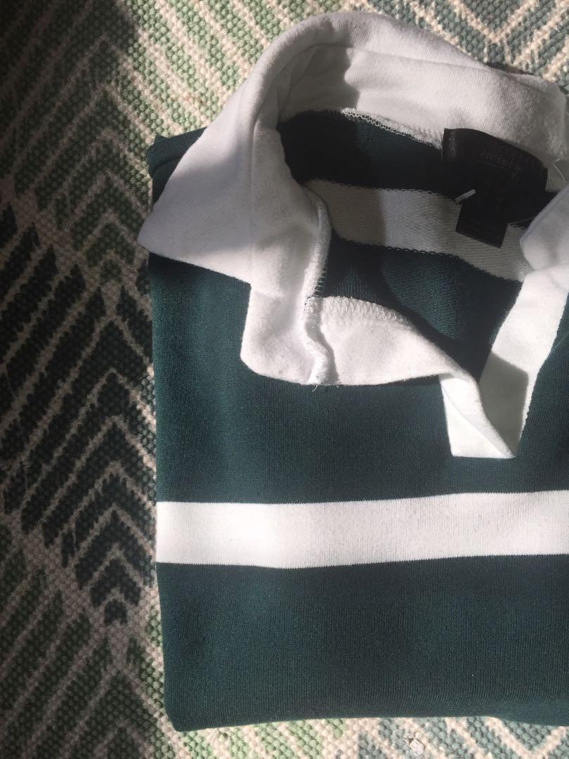 Varsity style long sleeve