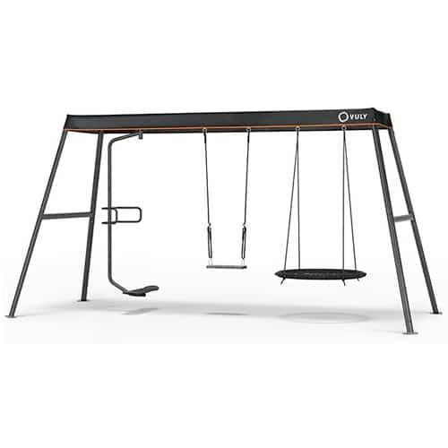 Vuly 360 Pro Large Set with Spin, Yoga & Nest Swing Plus Shade Cover