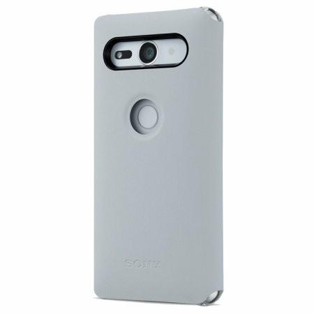 Sony Xperia XZ2 Compact SCSH50 Style Cover Stand Case - Grey