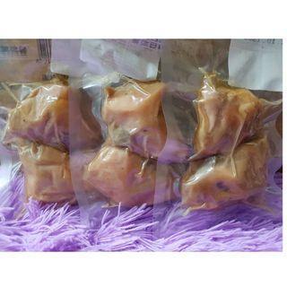 寵物蒸雞腿 鮮嫩雞腿 雞排 雞塊 純肉 天然 零食 肉 犬貓可食