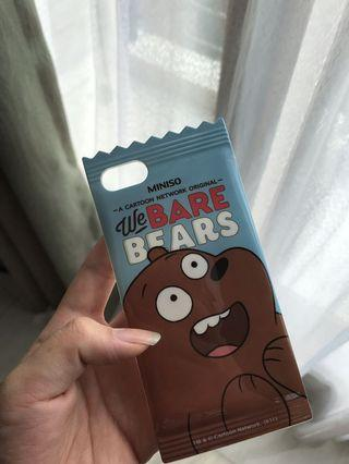 Case iPhone 7 WE BARE BEARS