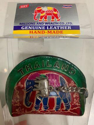 Thailand Gift - Leather Coin Pouch
