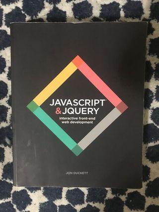 WILEY | JavaScript & Jquery 原本書 JavaScript 學習必備聖經寶典 新加坡購入
